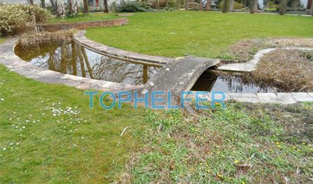 Kleiner Teich Fur Den Garten Tophelfer